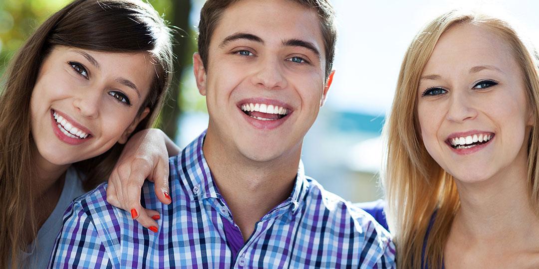 Cuidado dental para adolecentes de 12 a 18