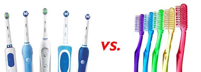 Cepillo de dientes eléctrico o manual, ¿cuál es el correcto?
