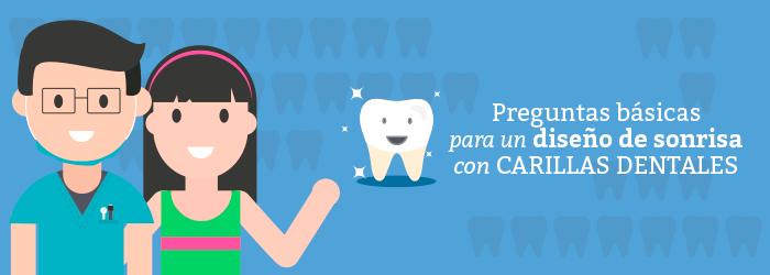 Preguntas básicas para un diseño de sonrisas con carillas dentales (INFOGRAFÍA)